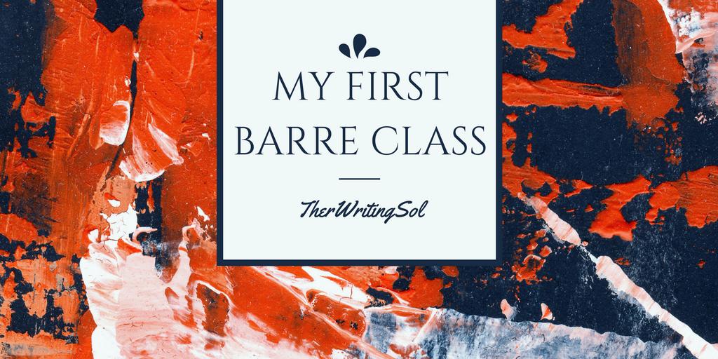 My First Barre Class