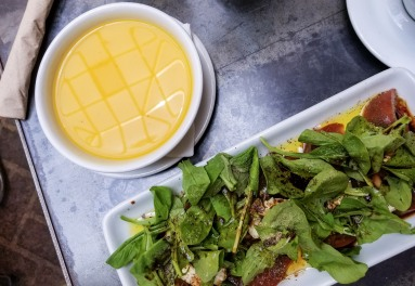 soup and salad