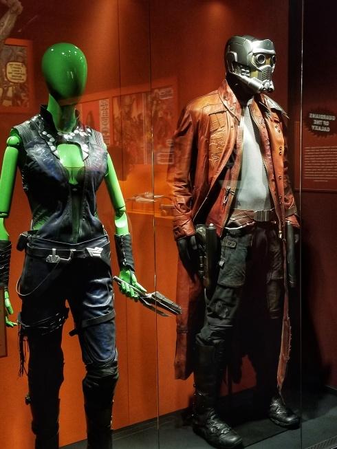 Gamora and Starlord